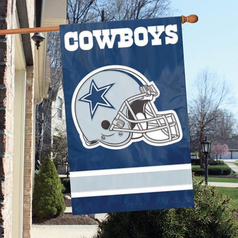 Dallas Cowboys  Applique Banner Flag Party Animal Afda