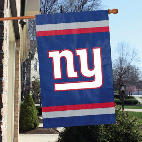 New York Giants  Applique Banner Flag Party Animal Afgi
