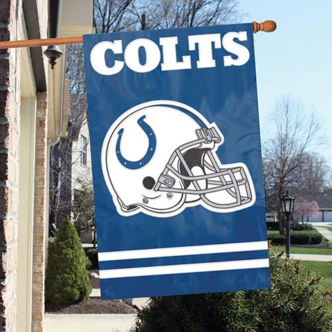 Indianapolis Colts  Applique Banner Flag Party Animal Afin