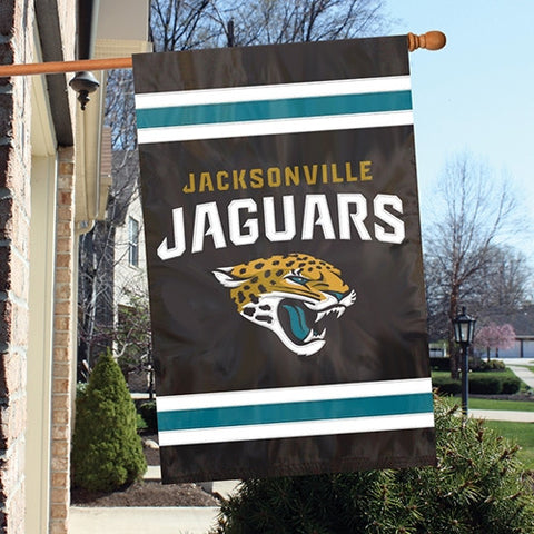 Jacksonville Jaguars  Applique Banner Flag Party Animal Afjj