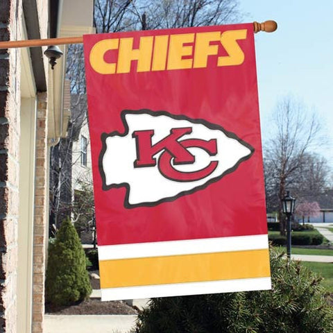 Kansas City Chiefs  Applique Banner Flag Party Animal Afkc
