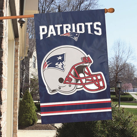 New England Patriots  Applique Banner Flag Party Animal Afne