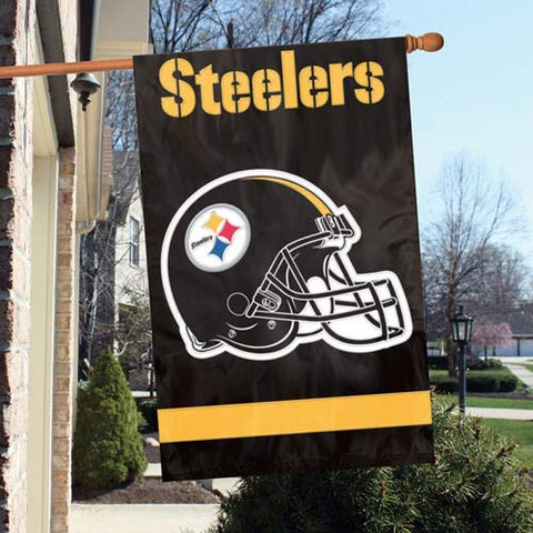 Pittsburgh Steelers  Applique Banner Flag Party Animal Afst