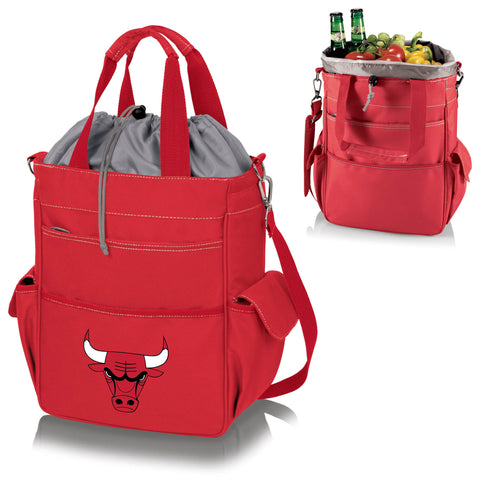 Chicago Bulls Activo Coolers and Tote Bags by Picnic Time