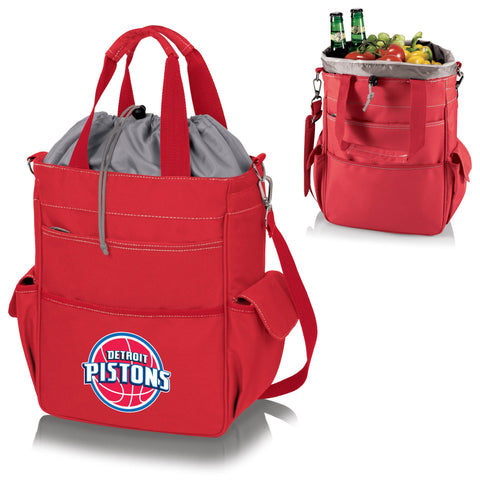 Detroit Pistons Activo Coolers and Tote Bags by Picnic Time