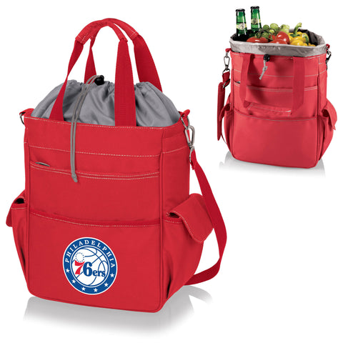 Philadelphia 76ers Activo Coolers and Tote Bags by Picnic Time