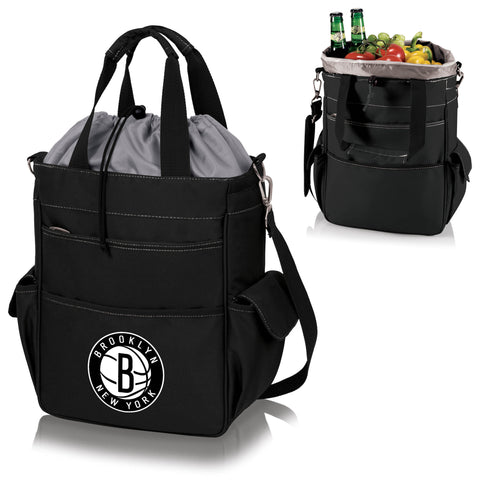 Brooklyn Nets Activo Coolers and Tote Bags by Picnic Time