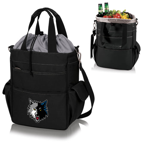 Minnesota Timberwolves Activo Coolers and Tote Bags by Picnic Time