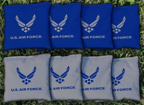 US Air Force Replacement Cornhole Bag Set  (corn filled)