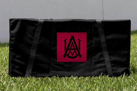 Alabama A&M University Bulldogs Cornhole Carrying Case Victory Tailgate 26266