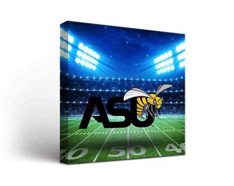 Alabama State Hornets  Man Cave wall art - Stadium Design