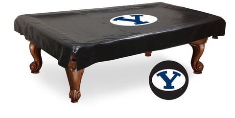 Brigham Young Cougars 7 Ft Pool Table Cover by Holland Bar