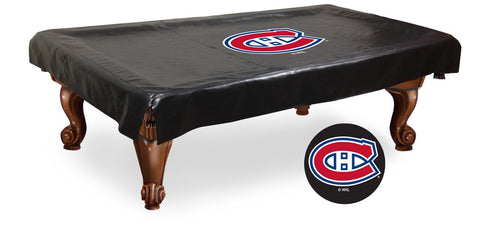 The Montreal Canadiens 7' Pool Table Cover - Holland Bar BCV7MonCan