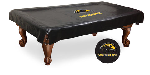 Southern Mississippi Golden Eagles 7 Ft Pool Table Cover by Holland Bar
