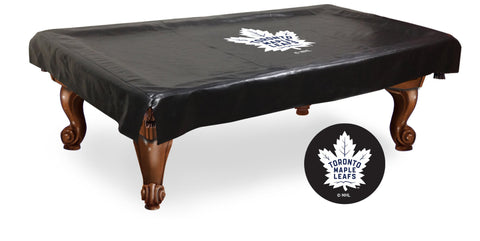 The Toronto Maple Leafs 9' Pool Table Cover - Holland Bar BCV9TorMpl