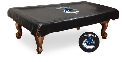The Vancouver Canucks 9' Pool Table Cover - Holland Bar BCV9VanCan