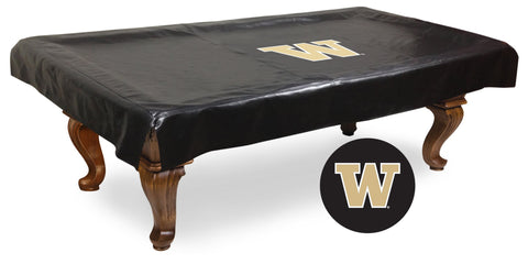Washington Huskies 7 Ft Pool Table Cover by Holland Bar