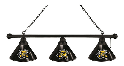 Wichita State 3 Shade Billiard Light