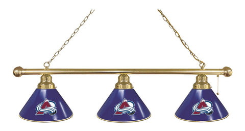 Colorado Avalanche 3 Shade Billiard Light