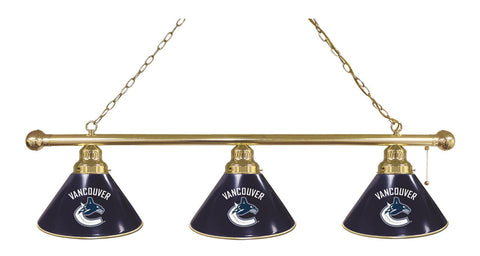 Vancouver Canucks 3 Shade Billiard Light