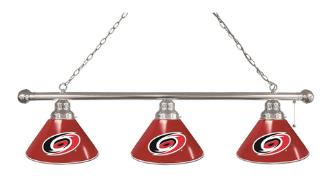 Carolina Hurricanes 3 Shade Billiard Light