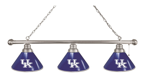 "Kentucky ""UK"" 3 Shade Billiard Light"