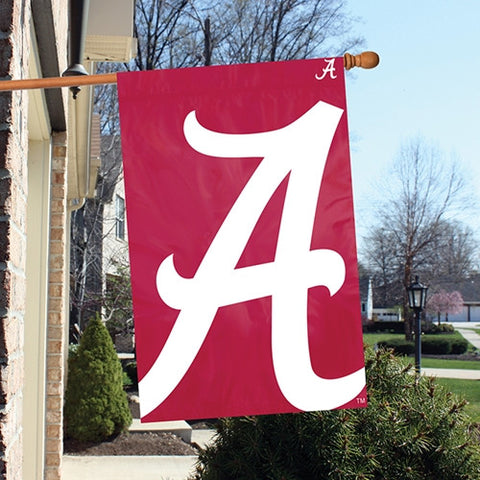 The Alabama Crimson Tide Logo Bold Flag by Party Animal - BLAL