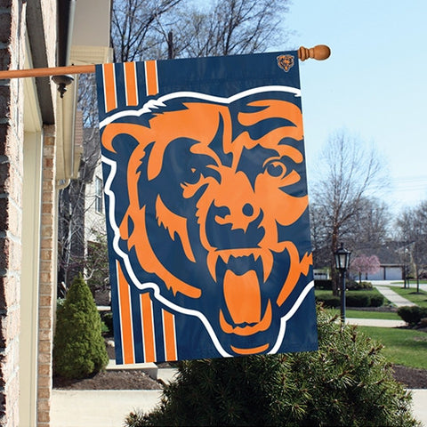 The Chicago Bears Logo Bold Flag by Party Animal - BLCH