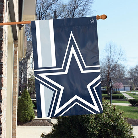 The Dallas Cowboys Logo Bold Flag by Party Animal - BLDA