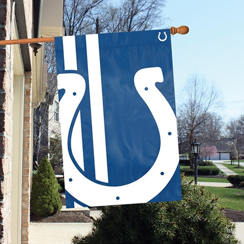 The Indianapolis Colts Logo Bold Flag by Party Animal - BLIN