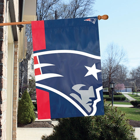 The New England Patriots Logo Bold Flag by Party Animal - BLNE