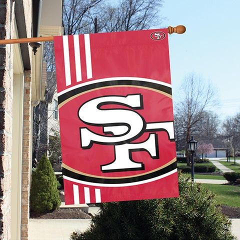 The San Francisco 49ers Logo Bold Flag by Party Animal - BLSF
