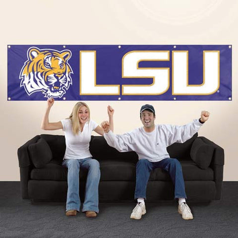 The LSU Tigers Giant Banner Party Animal BLSU