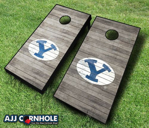 Brigham Young Cougars Cornhole Set with Team Bags