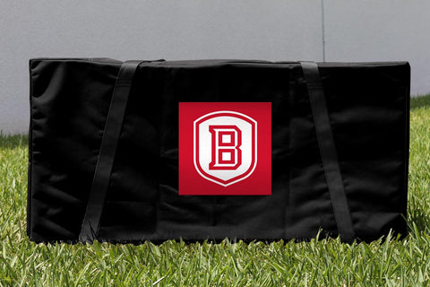 Bradley University Braves Cornhole Storage Carrying Case Victory Tailgate 16966