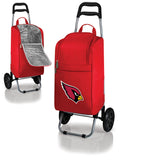 Arizona Cardinals Cooler Cart wheeled cooling keep beer cool