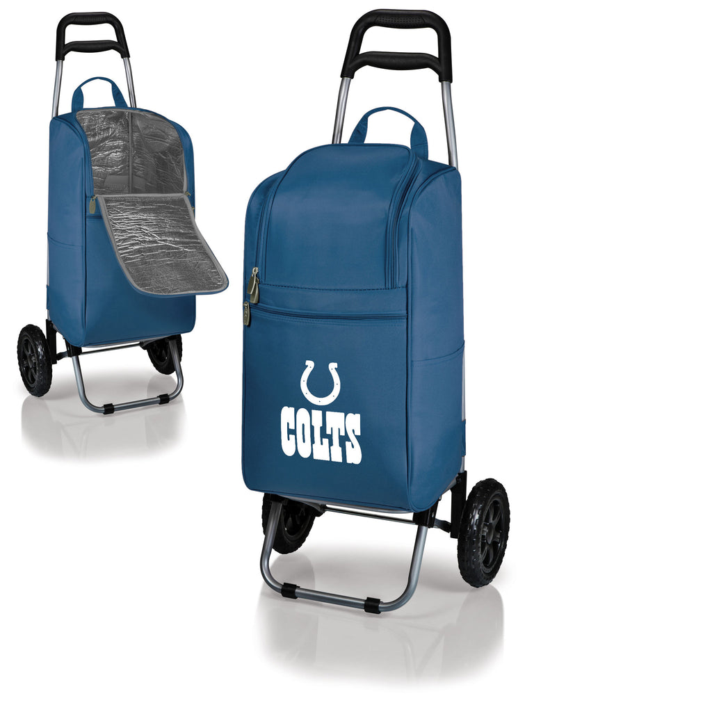 Indianapolis Colts Cooler Cart wheeled cooling keep beer cool
