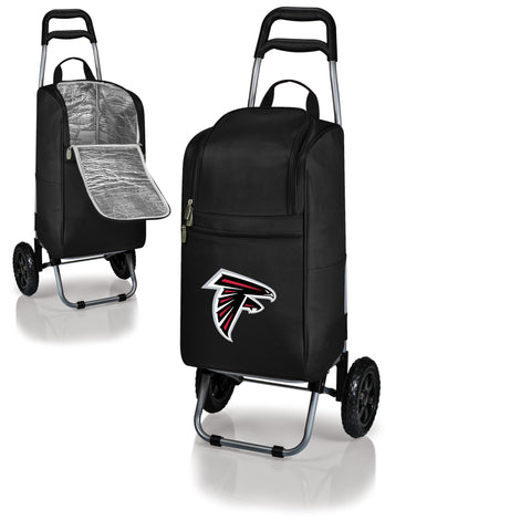 Black Cart Cooler - Atlanta Falcons