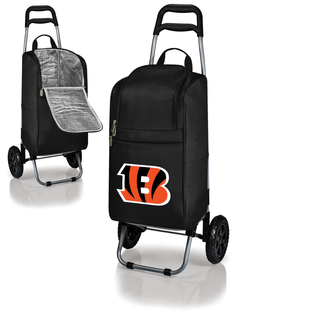 Cincinnati Bengals Cooler Cart wheeled cooling keep beer cool
