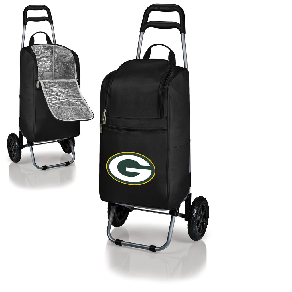 Green Bay Packers Cooler Cart wheeled cooling keep beer cool