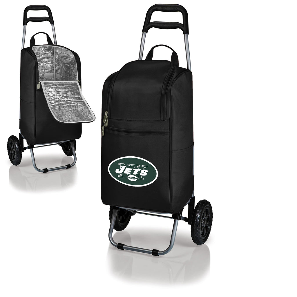 New York Jets Cooler Cart wheeled cooling keep beer cool