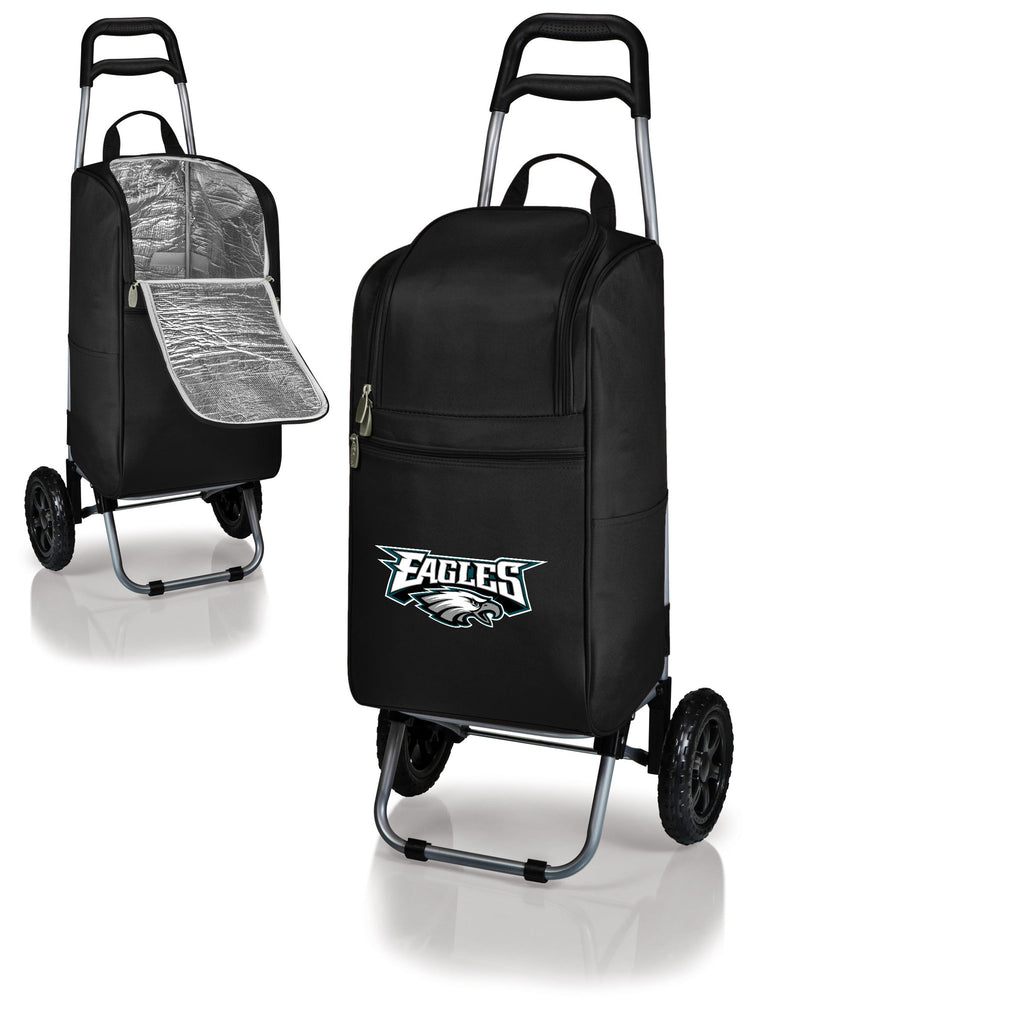 Philadelphia Eagles Cooler Cart wheeled cooling keep beer cool