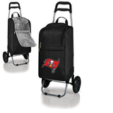 Tampa Bay Buccaneers Cooler Cart wheeled cooling keep beer cool