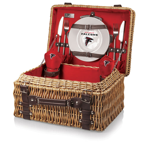 The Atlanta Falcons Champion Basket Picnic Time 208-40-100-024-2