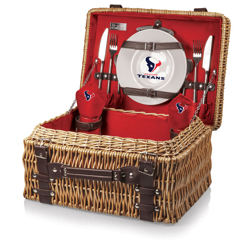 The Houston Texans Champion Basket Picnic Time 208-40-138-134-2