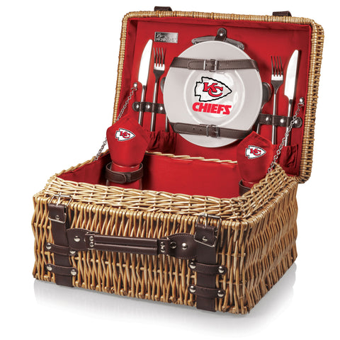 The Kansas City Chiefs Champion Basket Picnic Time 208-40-100-164-2