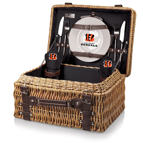 The Cincinnati Bengals Champion Basket Picnic Time 208-40-179-074-2
