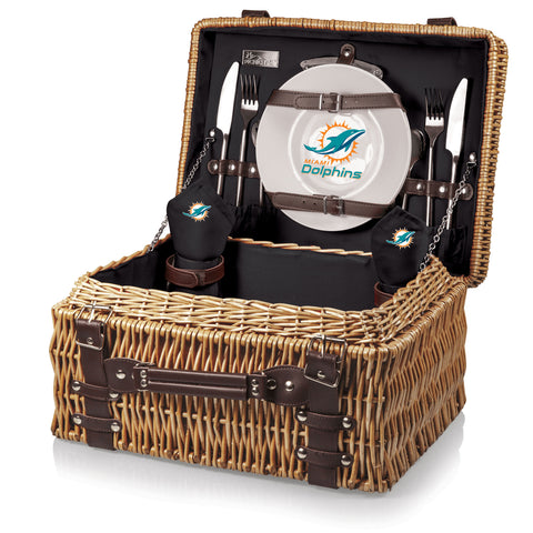 The Miami Dolphins Champion Basket Picnic Time 208-40-179-174-2