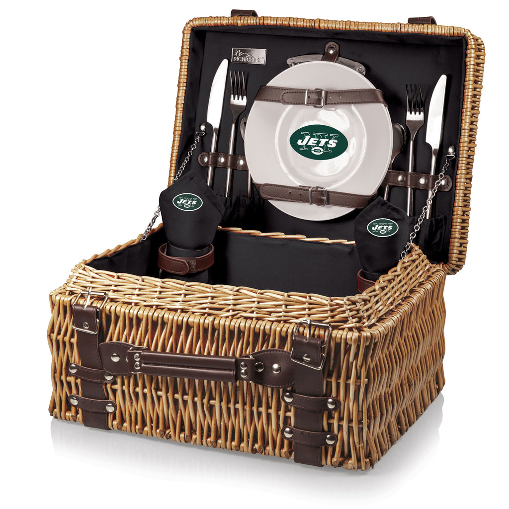 The New York Jets Champion Basket Picnic Time 208-40-179-224-2