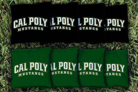 Cal Poly Mustangs Cornhole All Weather Bags Victory Tailgate 16652